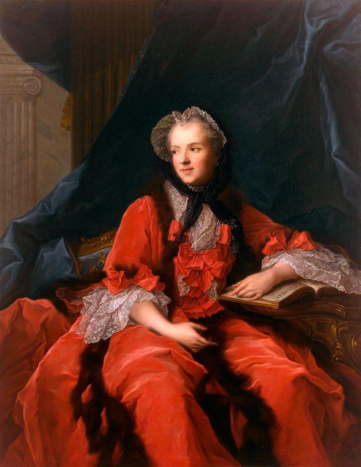 Marie Leszczynska (1703-1768), reine de France, épouse de Louis XV - par Jean Marc Nattier, 1748 - Château de Versailles