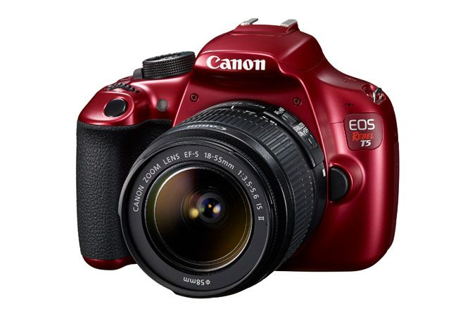 Canon EOS Rebel T5 Red EF-S 18-55mm IS II Lens Kit | Canon Online Store