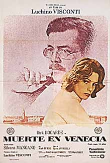 Posteritati: DEATH IN VENICE (Morte a Venezia) 1971 Argentine 1 Sheet (29x43)