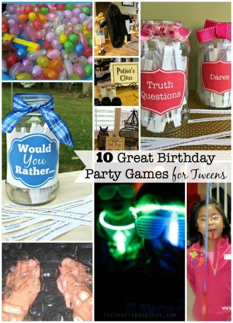 10 Great Birthday Party Games For Tweens Home Ideas For Birthday Party And