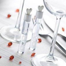 Wedding-Bubbles Herz-Röhrchen 24Stück)