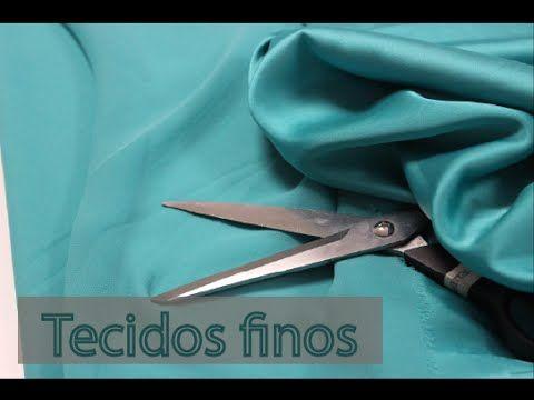 Esse tutorial mostra como cortar tecidos finos, com dicas para um corte mais preciso, sem que eles escorreguem. Tecido da Maximus Tecidos: www.maximustecidos...
