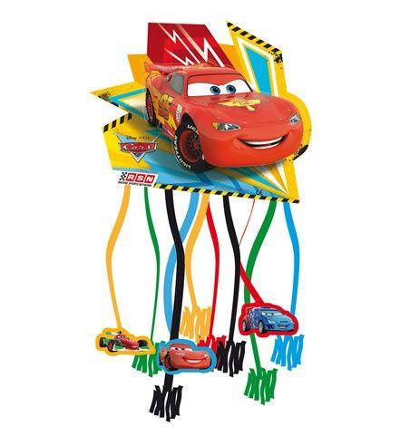 Cars pinata voor een uniek kinderfeestje - Feestwinkel Altijd Feest.