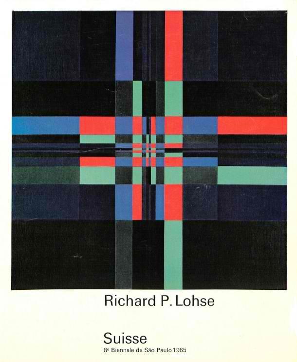Biennale de Sao Paulo, Couverture du catalogue, Richard-Paul Lohse - 1965
