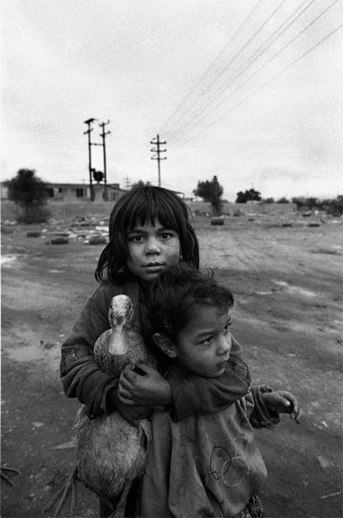 Nikos Economopoulos,Greece, Attica region, Shantytown of Aspropirgos, near Athens, Gypsies, 1993