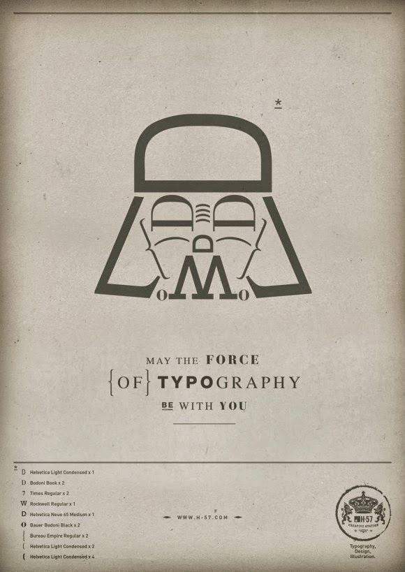 Force-of-Typography-Darth-Vader-580x819.jpg (580×819)
