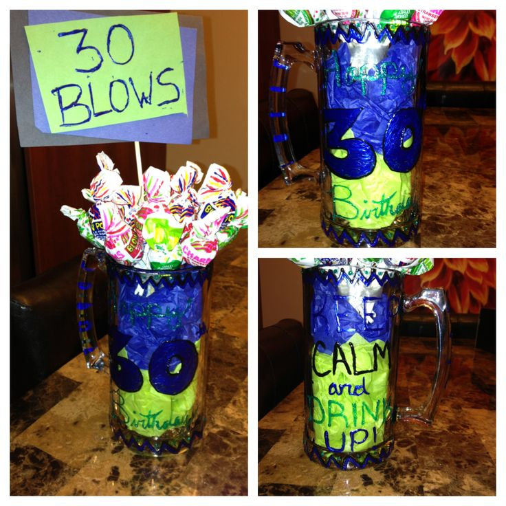 30th birthday gift idea gift ideas pinterest - Th birthday themes ideas ...