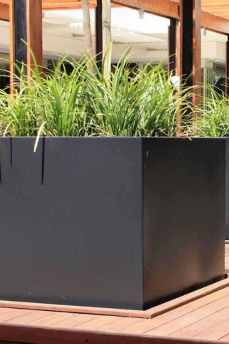 Pflanzbehalter Aus Aluminium Pflanzen Garten Pflanzkubel