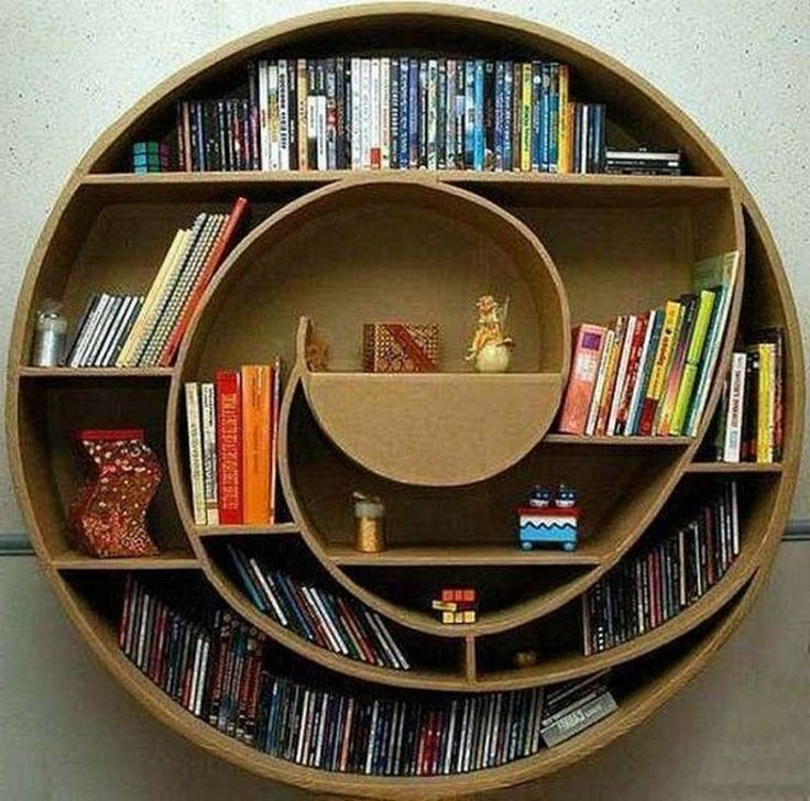 Bookshelfdesign Ideas: 42+ Awesome Wall Book Shelf Design That Make Your A Hobby