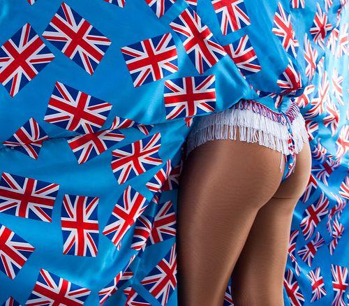 Union Jack | Union Jack dress - the Showgirl The Union Jack … | Flickr