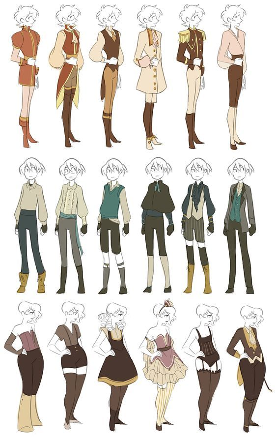 Outfits Ref Clothing Female In 2018 Drawings Drawing Clothes Character Design