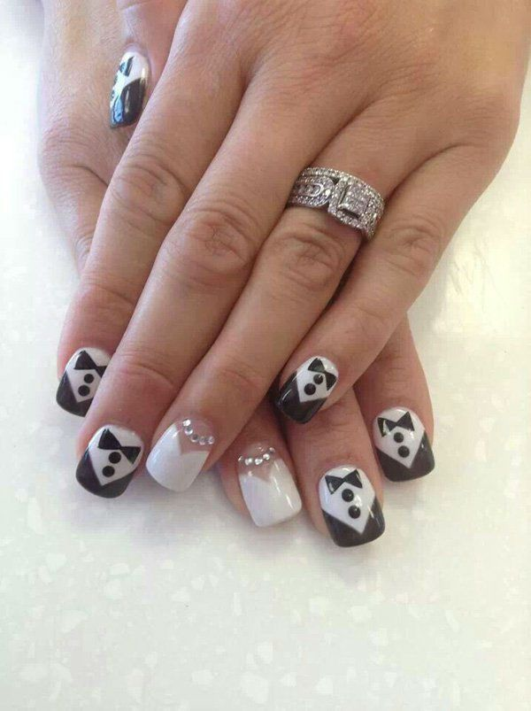 Best 25+ Wedding nails art ideas on Pinterest | Glitter wedding ...