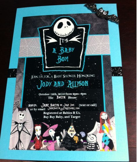 Nightmare Before Christmas Baby Shower   The Nightmare Before Christmas Baby Shower