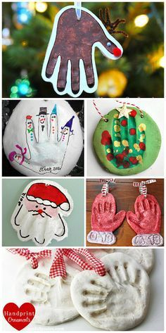 Ten More Gifts Kids Can Make Diy Christmas Gifts Christmas Crafts Handprint Ornaments Xmas Crafts