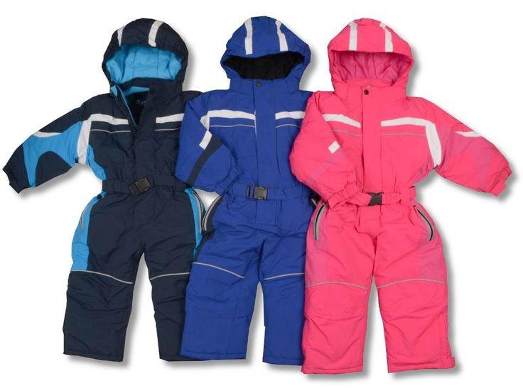 Dětské zimní kombinézy s odepínací kapucí, rozepínací nohavicí a reflexními prvky.  #děti #zimní #oblečení #kombinézy #dětskámóda