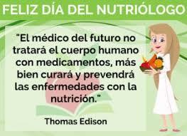 Resultado de imagen para día del nutriologo