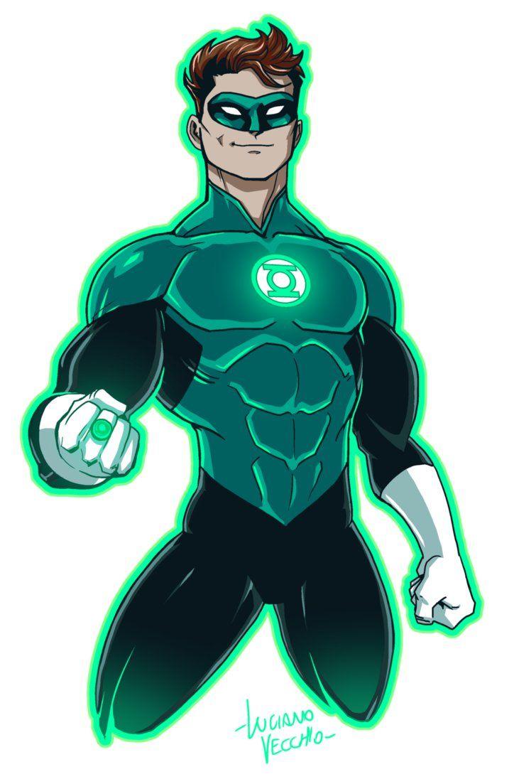 Green Lantern Hal Jordan Rebirth by LucianoVecchio.deviantart.com on @DeviantArt