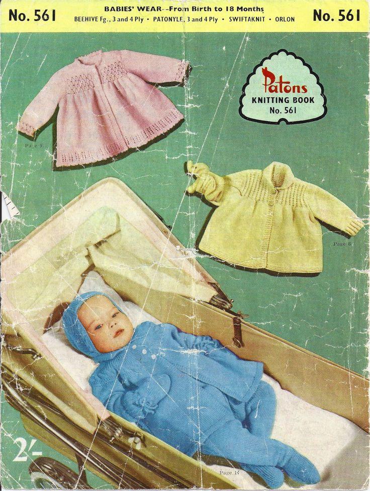 Patons Knitting Book No. 361 circa 1960.