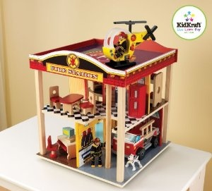 Kidkraft Fire Station Set from KidKraft at the Toy Store