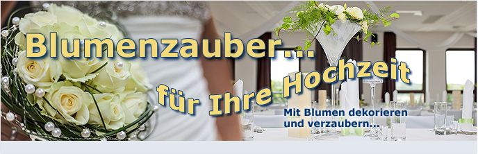Blumen für Hotel - Dekoration - Hochzeiten - direkt vom Großhändler - Blumenversand - Der Renner