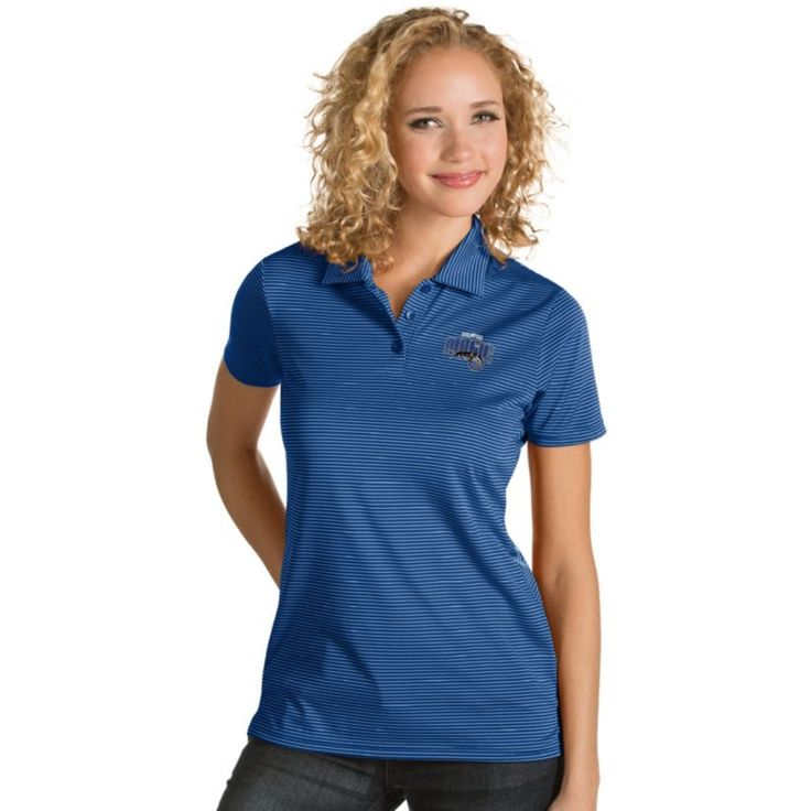 Antigua Women's Orlando Magic Xtra-Lite Royal Quest Performance Polo
