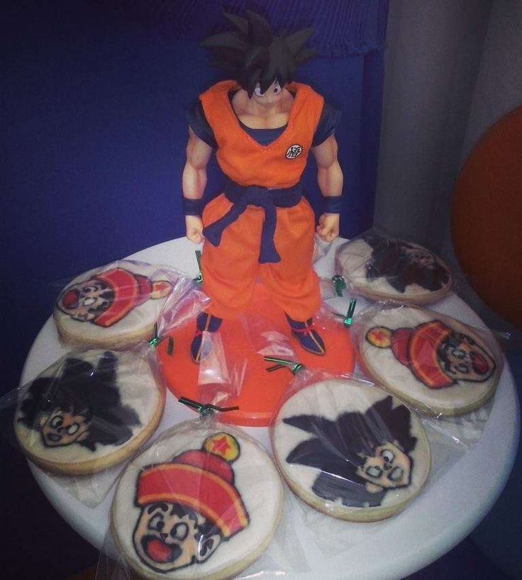 Leon first year of the Dragon Ball Goku style | CatchMyParty.com