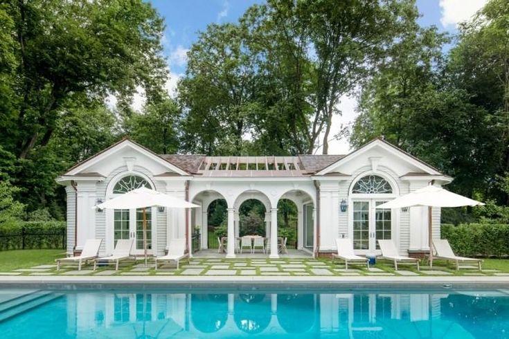 Pool House Design Flachdach