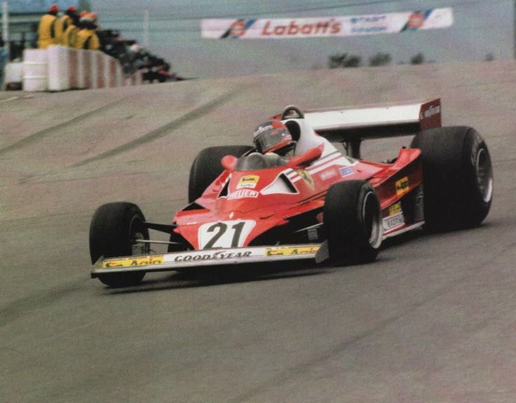 1977 gp kanady mosport ferrari 312t2 gilles villeneuve 1977 formu a 1 pinterest canada. Black Bedroom Furniture Sets. Home Design Ideas