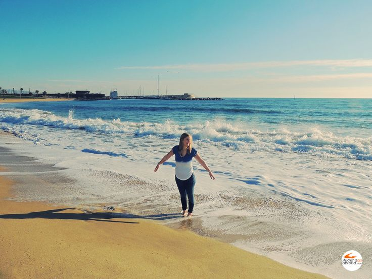 Who doesn't fall in love in love with Barcelona? #travel #internshipabroad #studentsgoabroad
