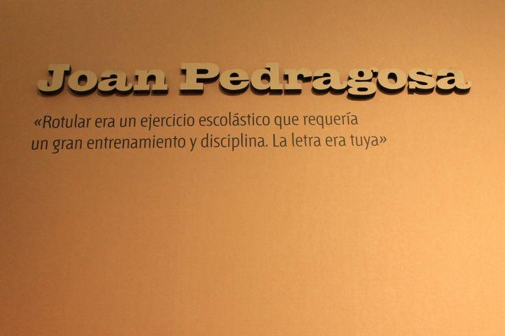 Grafistas / Diseño gráfico español 1939 - 1975 / Joan Pedragosa / Museo de Artes Decorativas