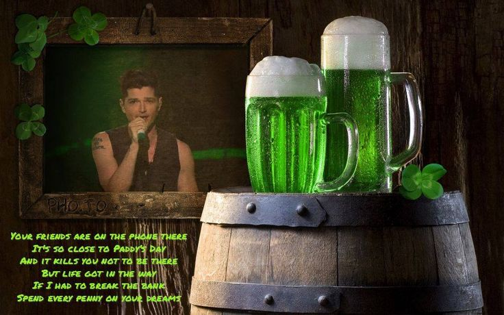 The Script - Paint the town green Edit