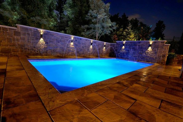 134 best pool lighting images on pinterest swimming for Above ground pool lighting ideas