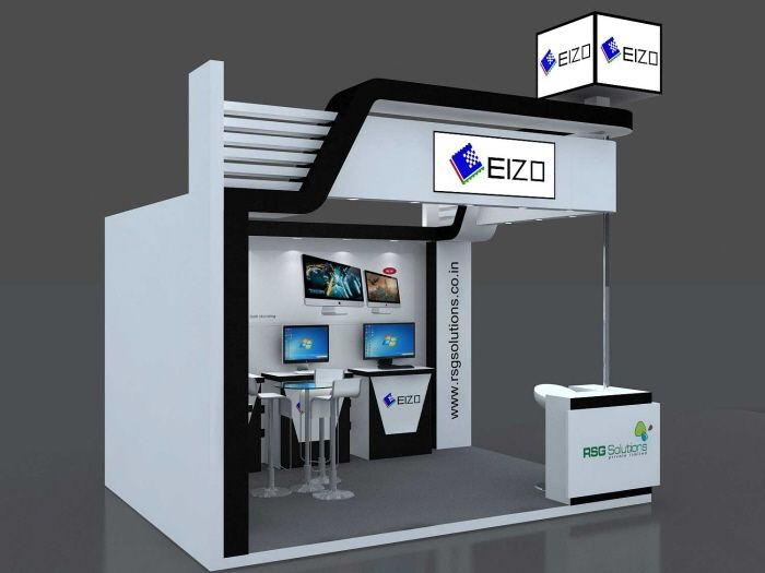 Small Exhibition Stand Sizes : Eizo exhibition in by dipesh bhovad at coroflot
