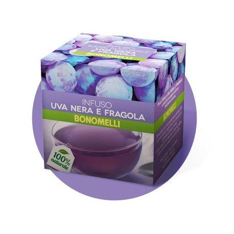 #bonomelli #tisane #strawberry #black #grape #buy #online #worldwide #shipping #italy #madeinitaly Acquista online BONOMELLI INFUSO UVA NERA E FRAGOLA 10 bustine con SPEDIZIONE IN 24 ORE IN ITALIA E ALL'ESTERO