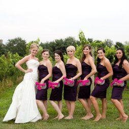 Koszorúslány kézitáska 5, Wedding bridesmaid clutches 5