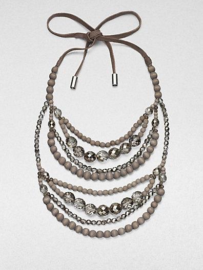 Brunello Cucinelli - Beaded Necklace