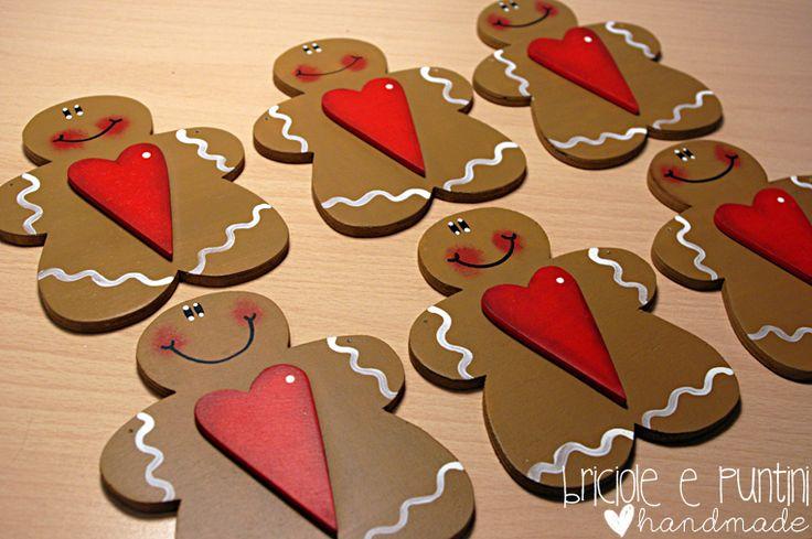 Gingerbread in legno fai da te - Tutorial in Italiano.