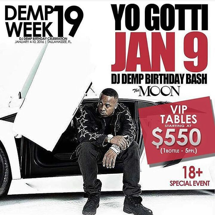 WARNING THIS EVENT WILL SELL OUT @YOGOTTIKOM HOSTED BY @DJDEMP JANUARY 9TH TO BUY TICKETS NOW VISIT http://WWW.MUSICTREEMUZIK.COM #DempWeek19 #YoGotti #PerformingLive #Movie #Epic #FAMU16 #FAMU17 #FAMU18 #FAMU19 #FSU16 #FSU17 #FSU18 #FSU19 #VSU16 #VSU17 #VSU18 #VSU19 #Music #Marketing #Promotions #Branding #Miami #Atlanta #NewYorkCity #Chicago #Houston #LosAngeles #LasVegas #SeeYouInTheCrowd #MTM  by mtmpromotions_