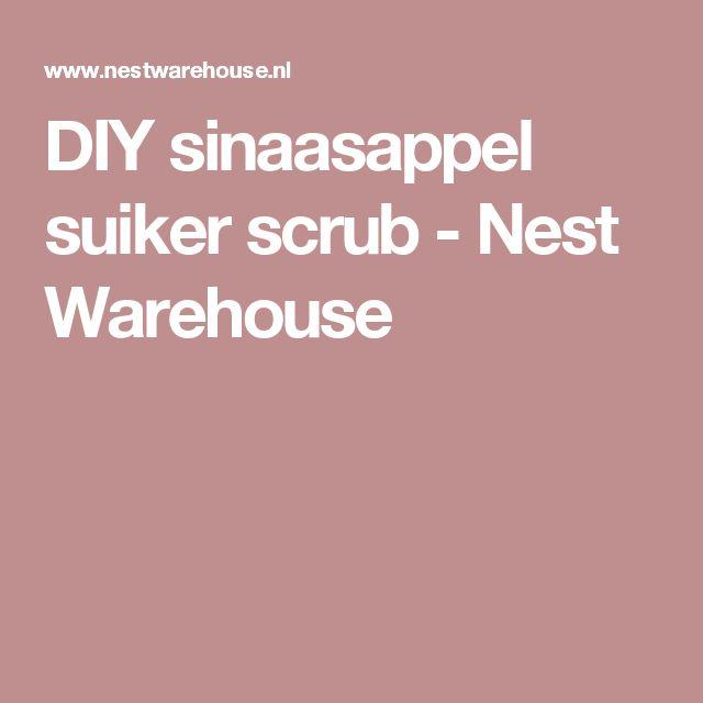 DIY sinaasappel suiker scrub - Nest Warehouse
