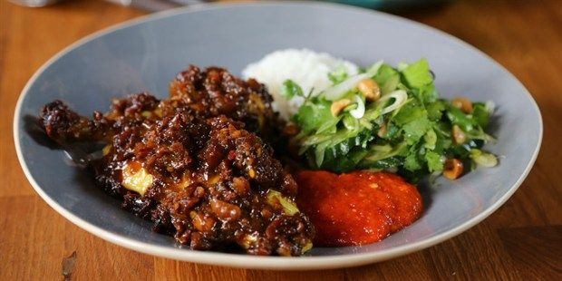 Super Satay Chicken