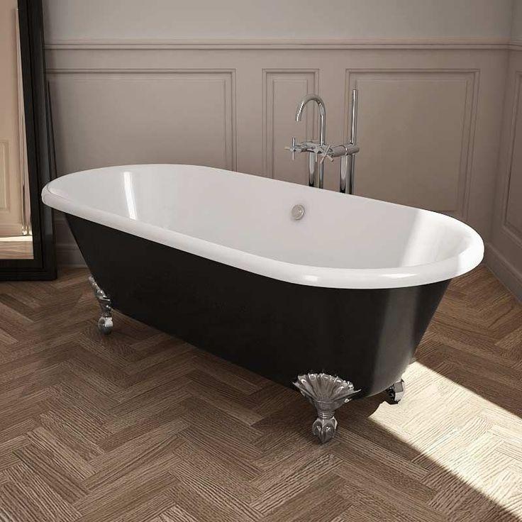Les 42 meilleures images propos de salle de bains sur for Salle de bain baignoire pied de lion