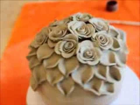 Keramik Rosenkugel - YouTube