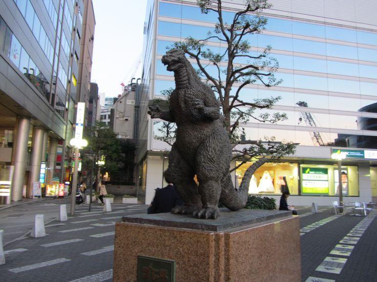 Godzilla reside en japon