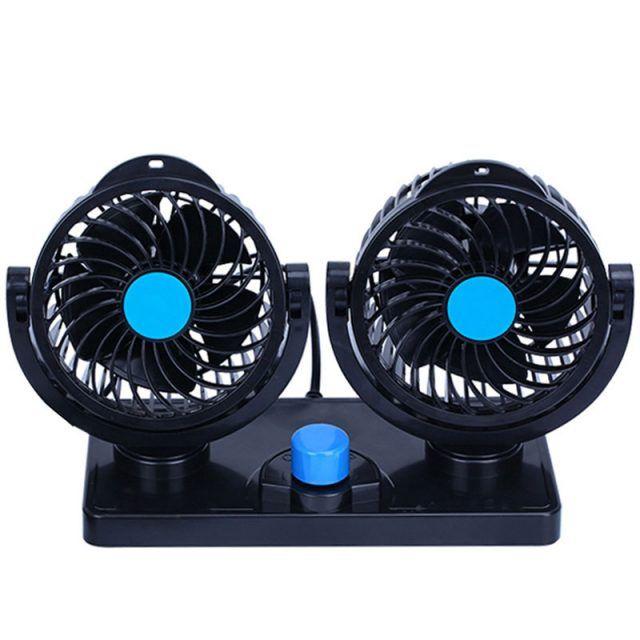 12v Double Head Design Fan Fan Air Conditioning Fan Air Cooler