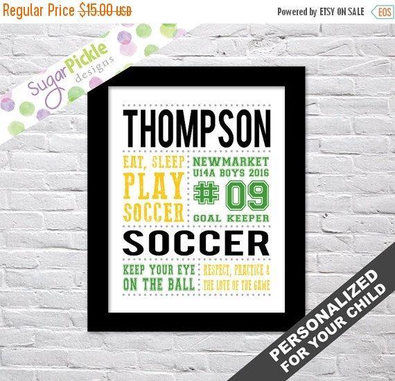 Soccer Print, Soccer art, Soccer Subway Art, Soccer Stats Art, Soccer Wall Art, Soccer printables, Team Gift, Personalized,   #SoccerDecor #SoccerPrint #Personalized #SoccerStatsArt #SoccerSubwayArt #SoccerTheme #SoccerWallArt #SoccerArt #TeamGift #SoccerPrintables
