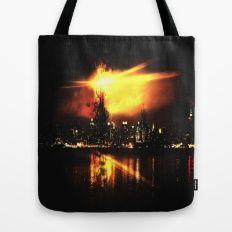 Night City Tote Bag