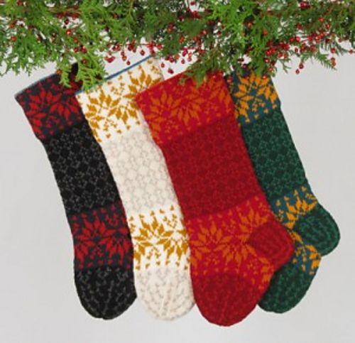 Santa's socks stocking, $