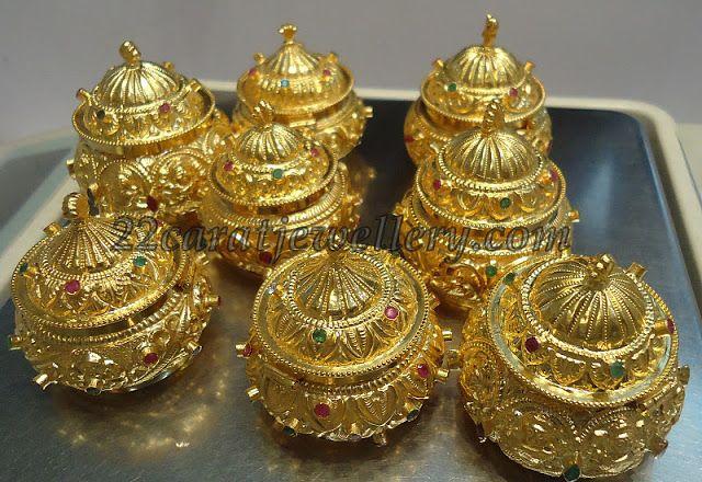 Jewellery Designs: Kunkuma Barine Gallery