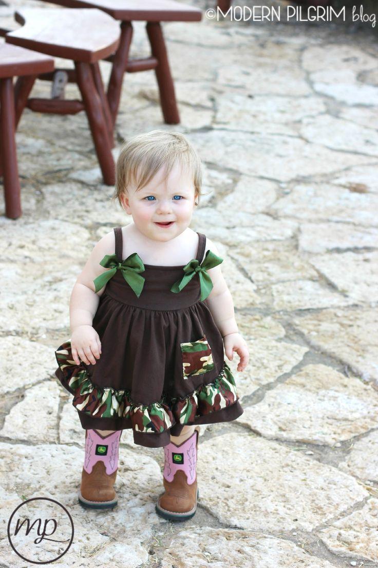 image trendy baby. Trendy Tot: Baby Camo Dress Image