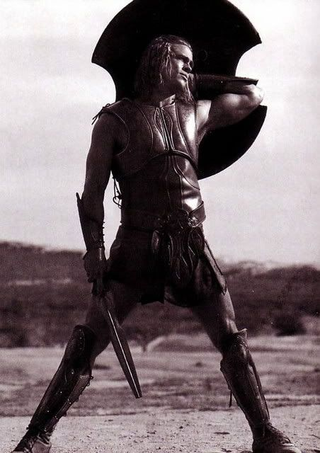 If they ever tell my story let them say that I walked with giants. Men rise and fall like the winter wheat, but these names will never die. Let them say I lived in the time of Hector, tamer of horses. Let them say I lived in the time of Achilles. - TROY
